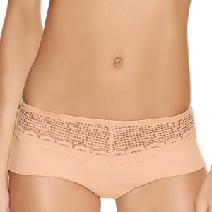 Shorty avec maille ajourée Rio naturally nude