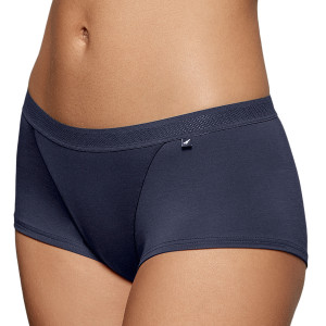 Shorty confort en lyocell Soft premium Travel bleu nuit