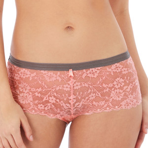 Shorty en dentelle Offbeat rosehip