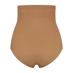 Culotte gainante taille haute controle léger Light Brown packshot